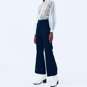 STELEN Enya Suiting wide leg Pants Navy blue